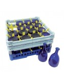 Dishwasher basket for catering bottles - 75 cl