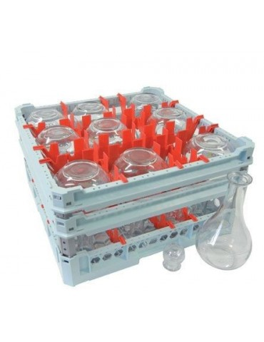 Cestello lavastoviglie per bottiglie da ristorazione - 127 cl