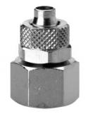 Diritto femmina cilindrico 6MM (JG) - 1/8