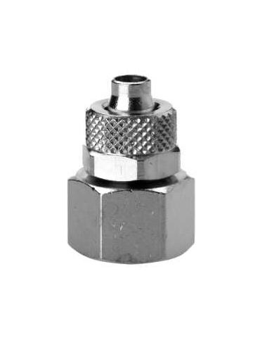 Straight female cylindrical 6MM (JG) - 1/8