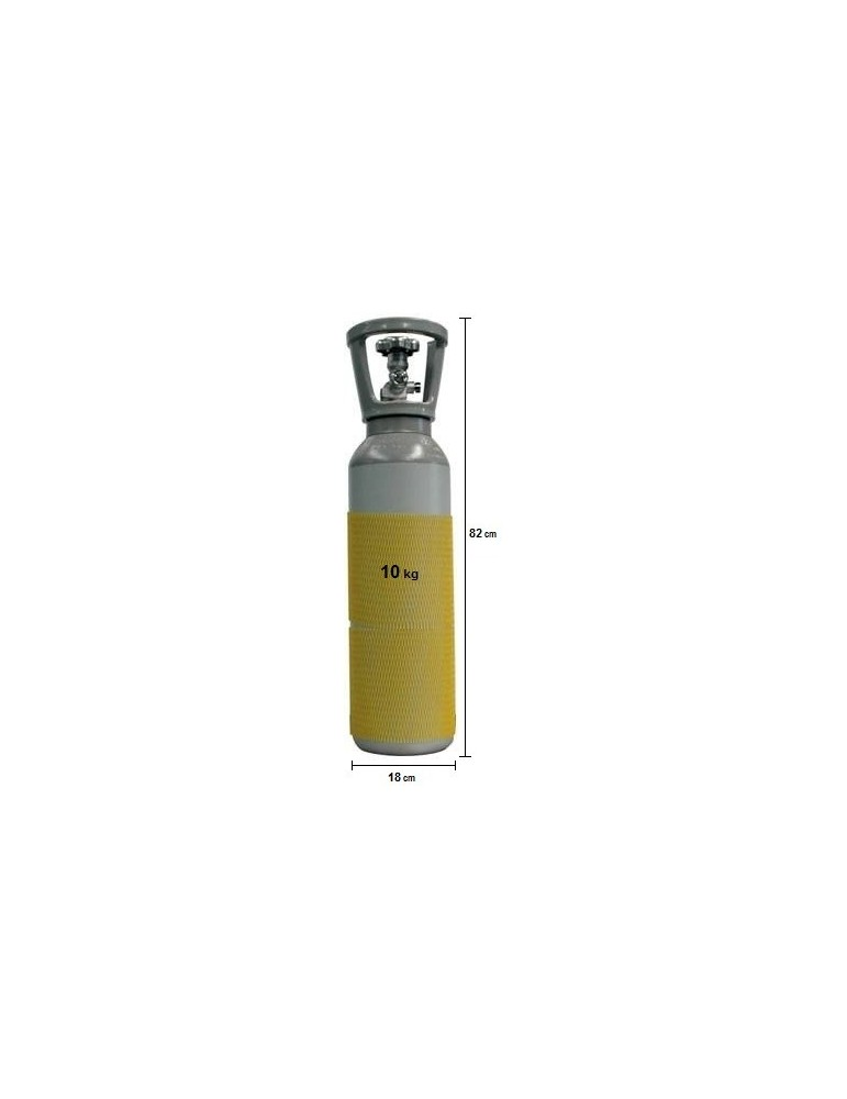 Bombola CO2 Ricaricabile - 10 Kg