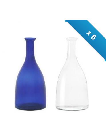 Bottiglia mod. Viola - 6 pz - miste - senza logo