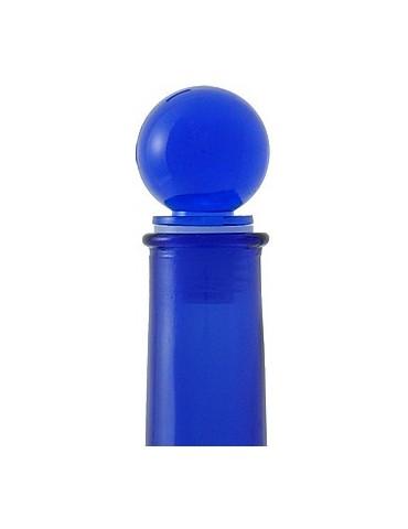 Tappo a sfera - di plastica - colore blu