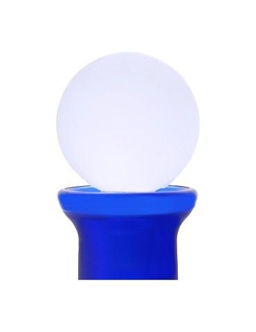 Tappo a sfera - di plastica - colore bianco