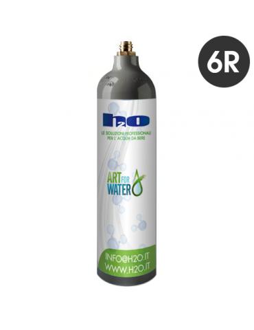 Cilindro CO2 da 1 kg - 6 pz - con reso del vuoto