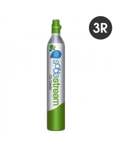 Cilindro CO2 per Sistema Sodastream - Wassermaxx - con restituzione del vuoto - 3 pezzi