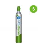 Cilindro CO2 Sodastream / Wassermaxx - 5 pezzi