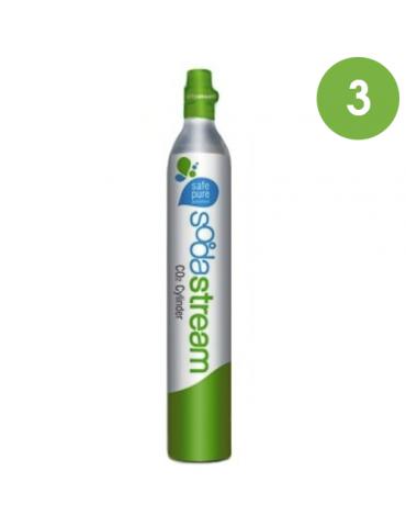 Cilindro CO2 Sodastream / Wassermaxx - 2 pezzi