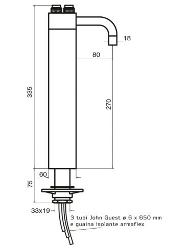 3-way tap - mechanical - Model: Trix