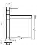 Rubinetto 5 vie - elettronico - Modello: 7190
