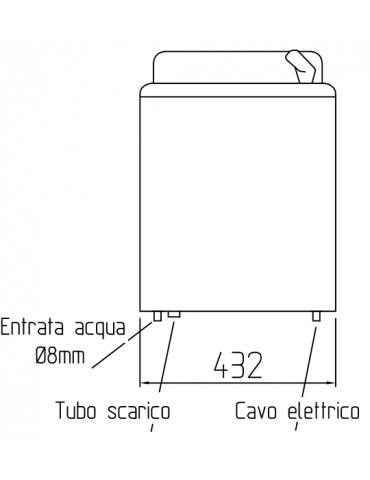RIVER UP 30 IB C G62 - ACCIAIO INOX
