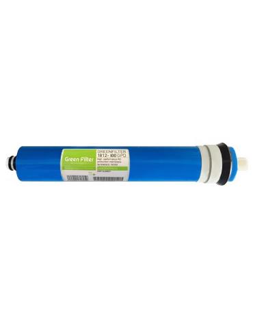 Osmosis Membrane - 100 GPD - 1812 - Green Filter