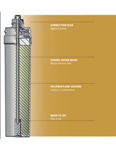 Profine Ocra Large filter - water softening + mesh filter