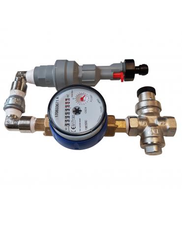 Box H2O per installazione rete idrica (completa di accessori)