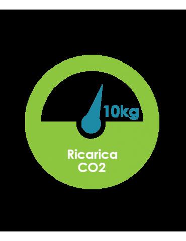 Ricarica CO2 Bombola 10 kg in noleggio con H2O
