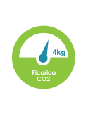 Ricarica CO2 Bombola 4 kg in noleggio con H2O