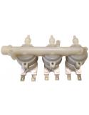 Solenoid valve 3 inputs 1 exit