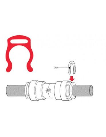 Clip locks tweezers 6mm