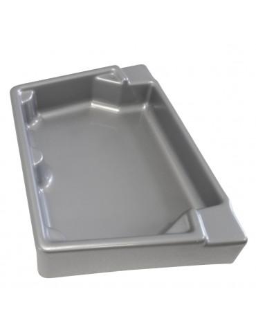 Atlantis 60 and 120 tray - silver