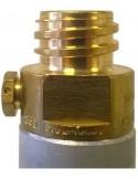 Cilindro CO2 per Sistema Sodastream - Wassermaxx - con restituzione del vuoto - 6 pezzi