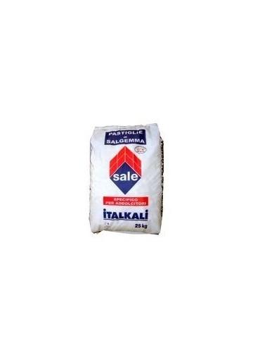 Pastiglie di salgemma per addolcitori acqua sacchi da 25 kg