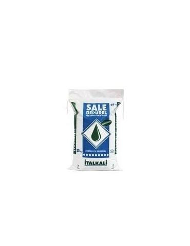 Cristalli di salgemma per addolcitori acqua sacchi da 25 kg