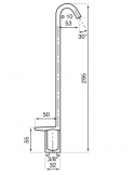 Gooseneck tap - Model: 2614