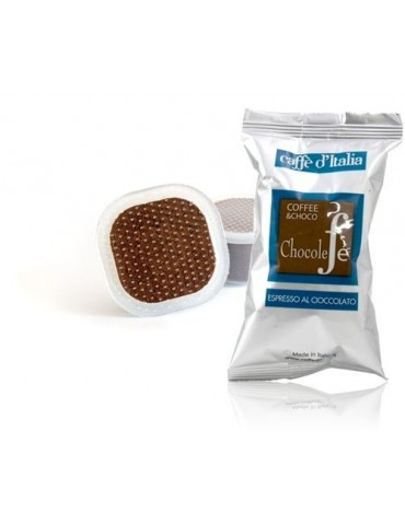 PODS - CHOCOLEFE '(chocolate coffee) - 50 pcs