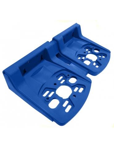 Staffa doppia P600 blu