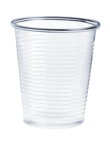 Bicchieri 200 cc Compostabili in PLA - 50 pz