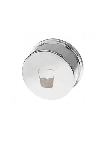TRIX environment logo brass button