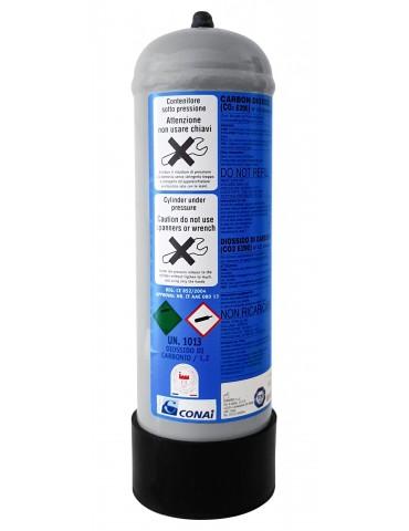 Bombola CO2 - usa e getta - 1300 gr
