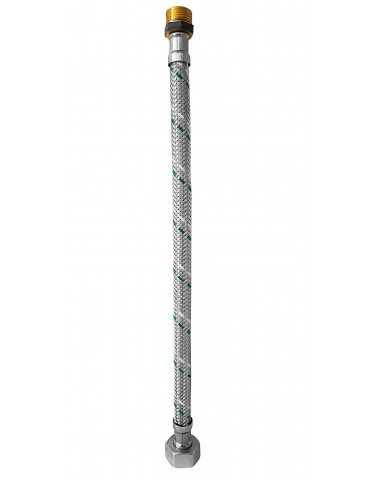 "Flessibile Inox MF 3/8"" x 1/2"" - 40 cm"