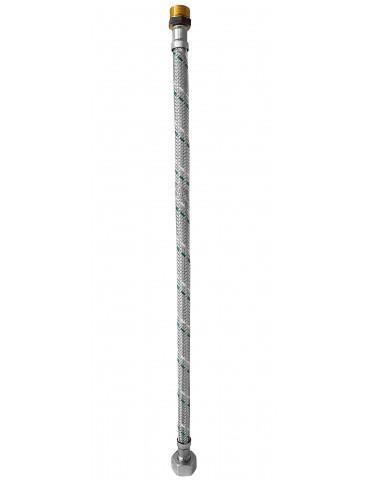 "Stainless steel hose MF 3/8 ""x 1/2"" - 40 cm"