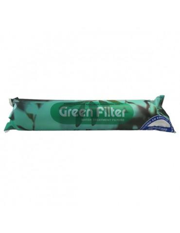 "Green filter in linea post GAC - 2"" x 10"" - F 1/4"