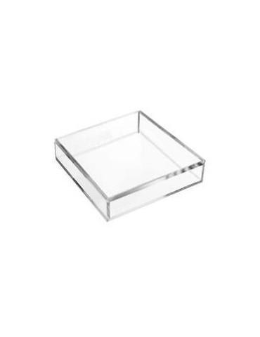 Base in plexiglass 40 X 40 - per refrigeratore d'acqua a boccione